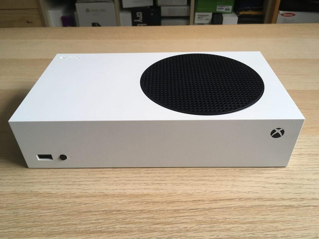 Xbox series s front