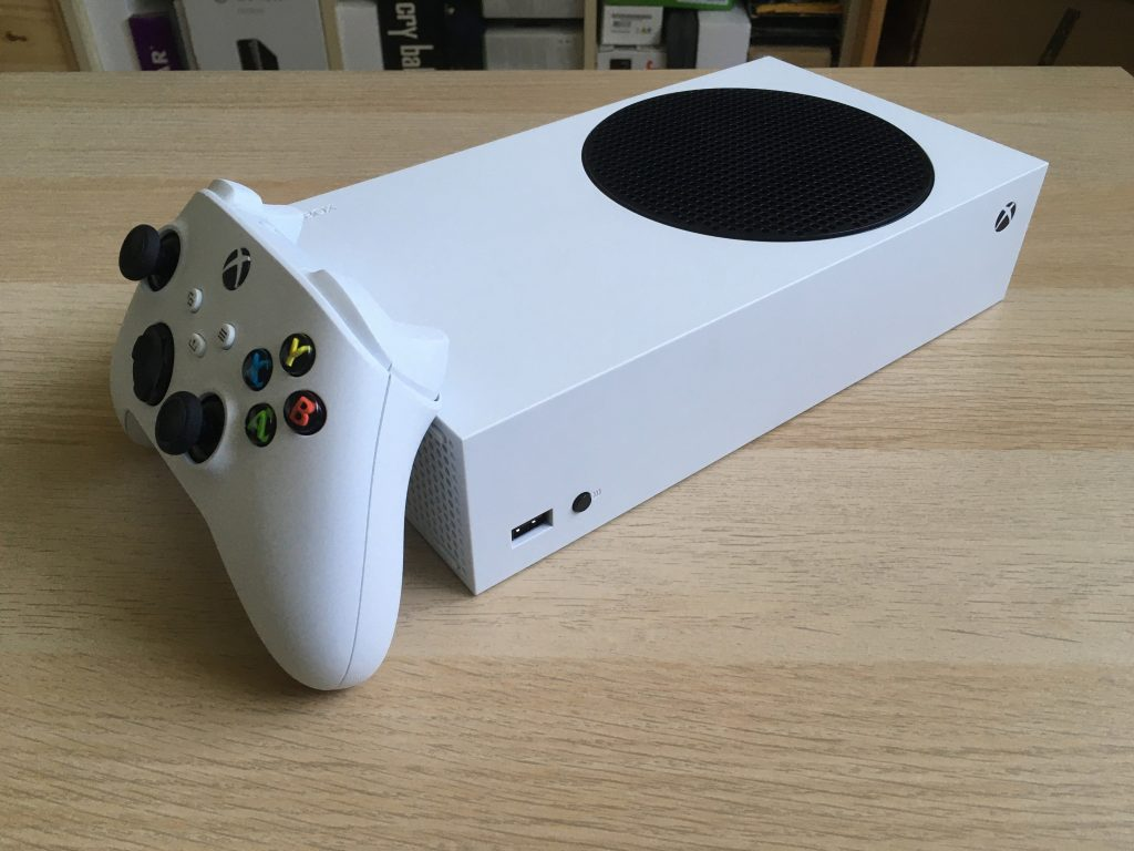 Xbox Series S In Horizontal Position 2