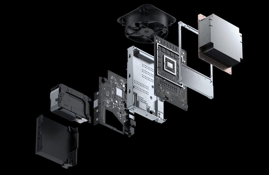 Xbox Series X Components