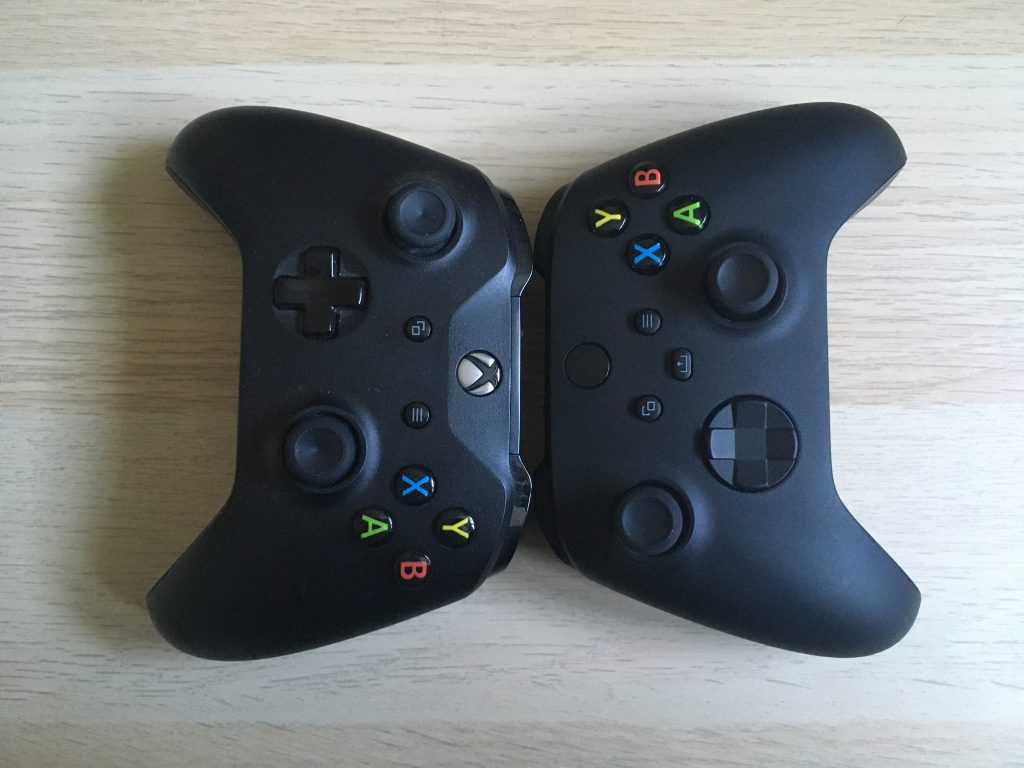 Xbox Series X Controller And Xbox One Controller 2