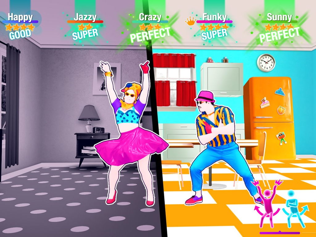 Just Dance 2021 video game on Xbox One and Xbox Series X.