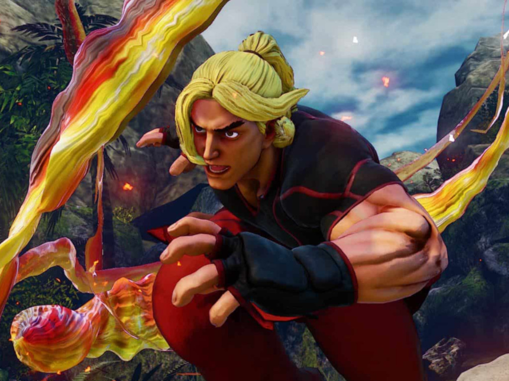 Street Fighter 5 Cropped