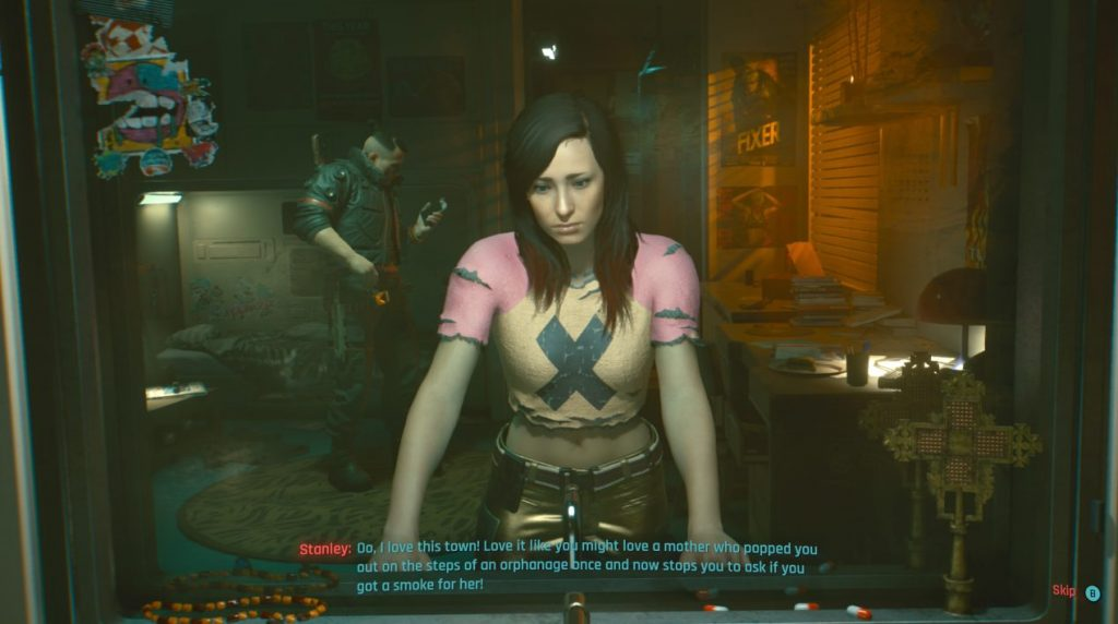 Cyberpunk 2077 On Xbox Series X