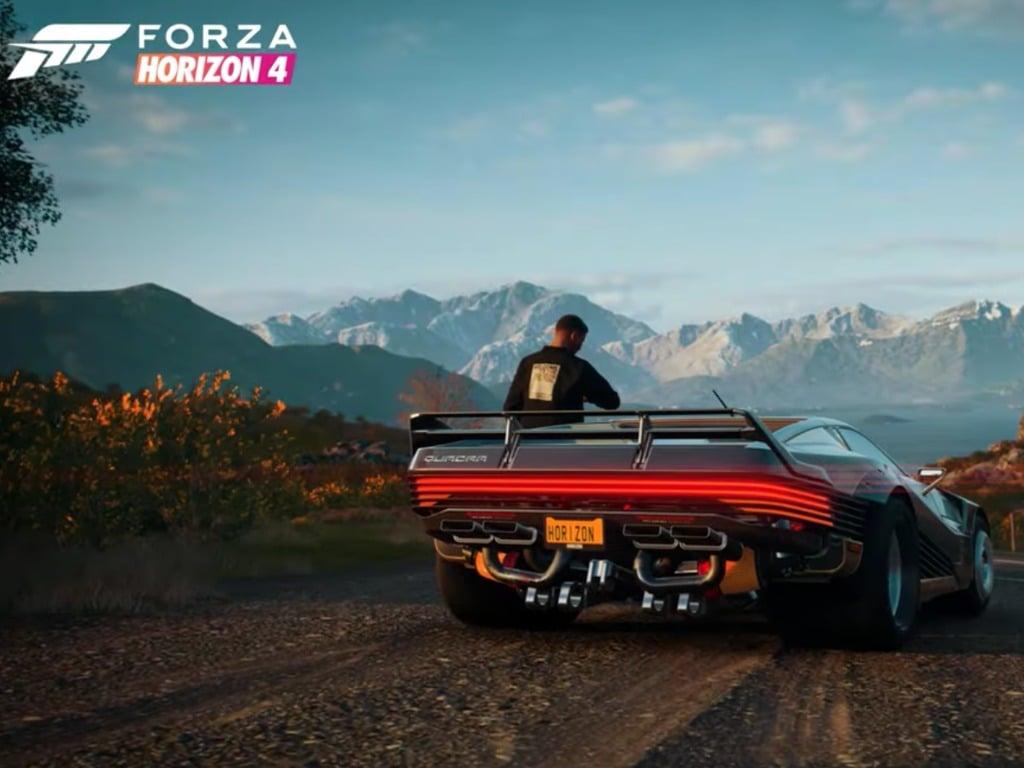Forza Horizon 4 Cyberpunk 2077 Collaboration Revealed