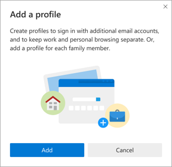 Microsoft Edge Add Profiles