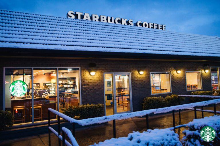 Starbucks Virtual Backgrounds Snowy Store 1024x683