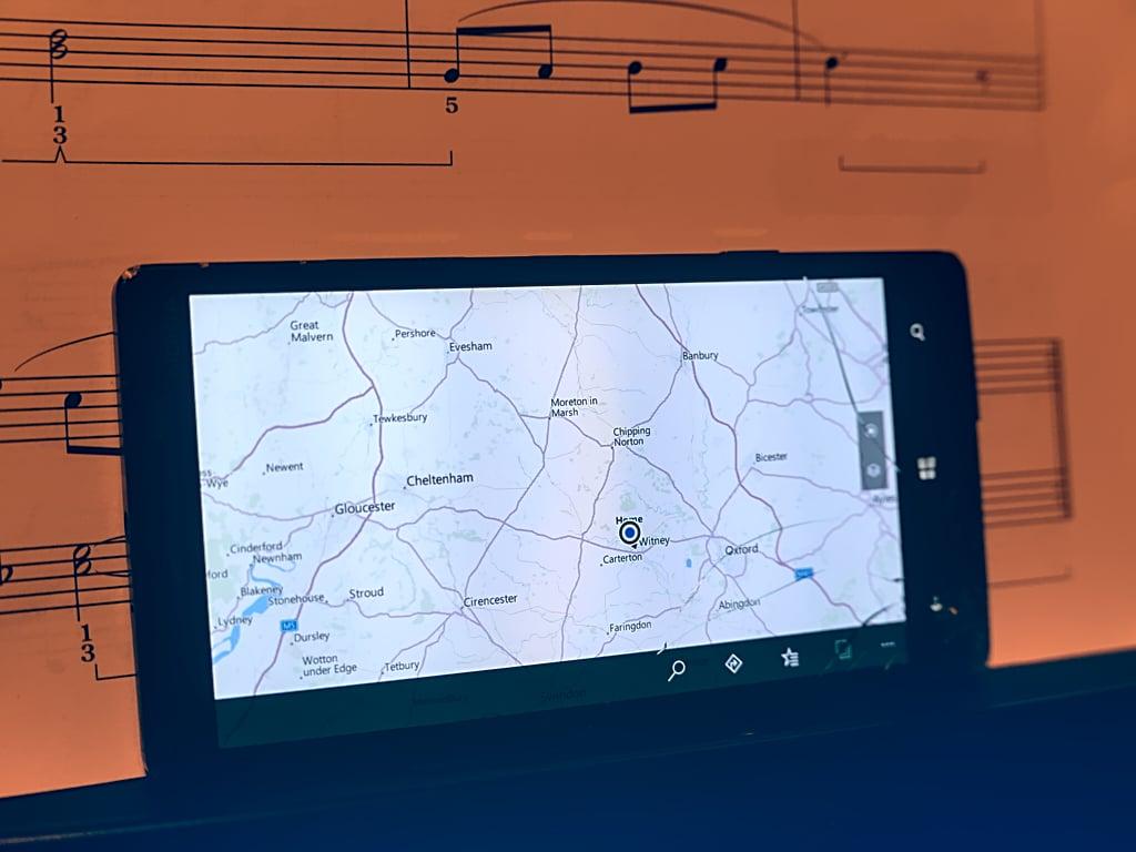 Windows Maps W10m