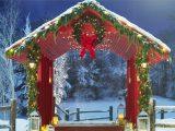 Christmas backgrounds microsoft teams