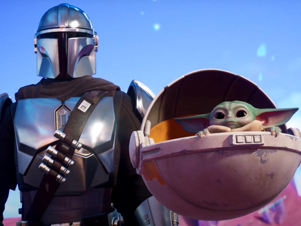 Grogu in Fortnite on Xbox Series X and Xbox One