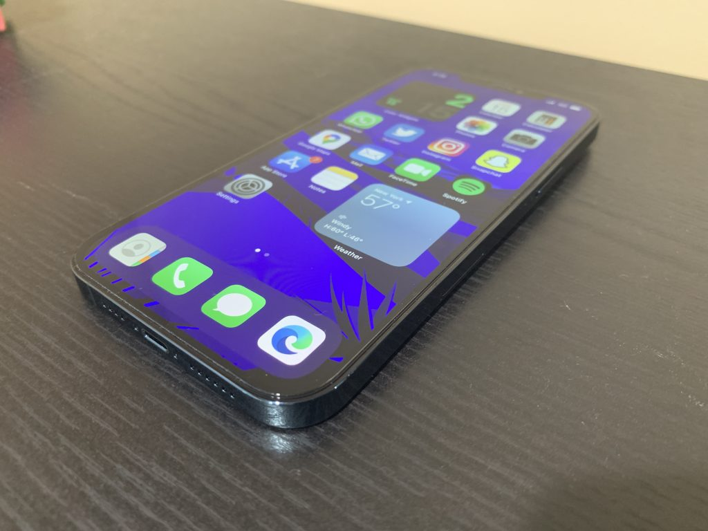Iphone 12 Pro Max Side Display