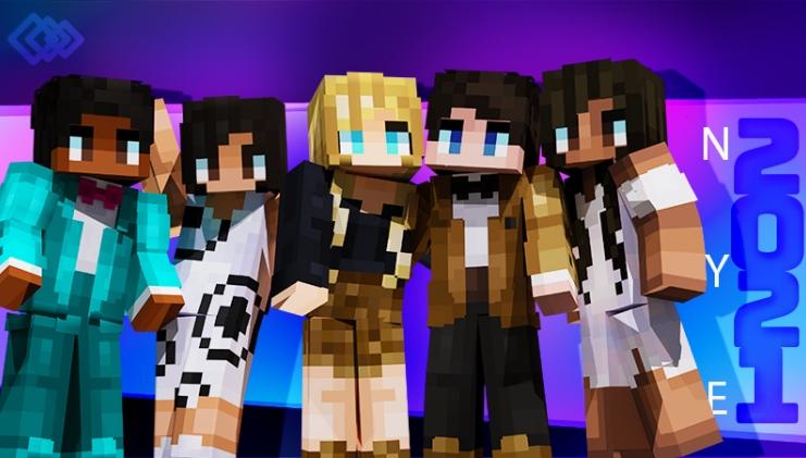 Minecraft Xmas skins