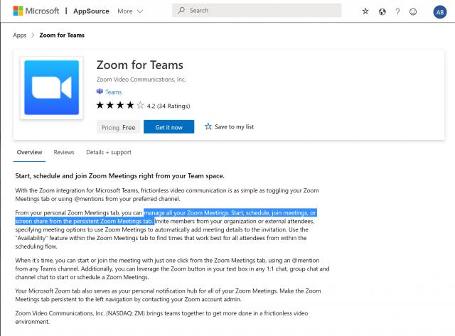 Teams Zoom Pre Req