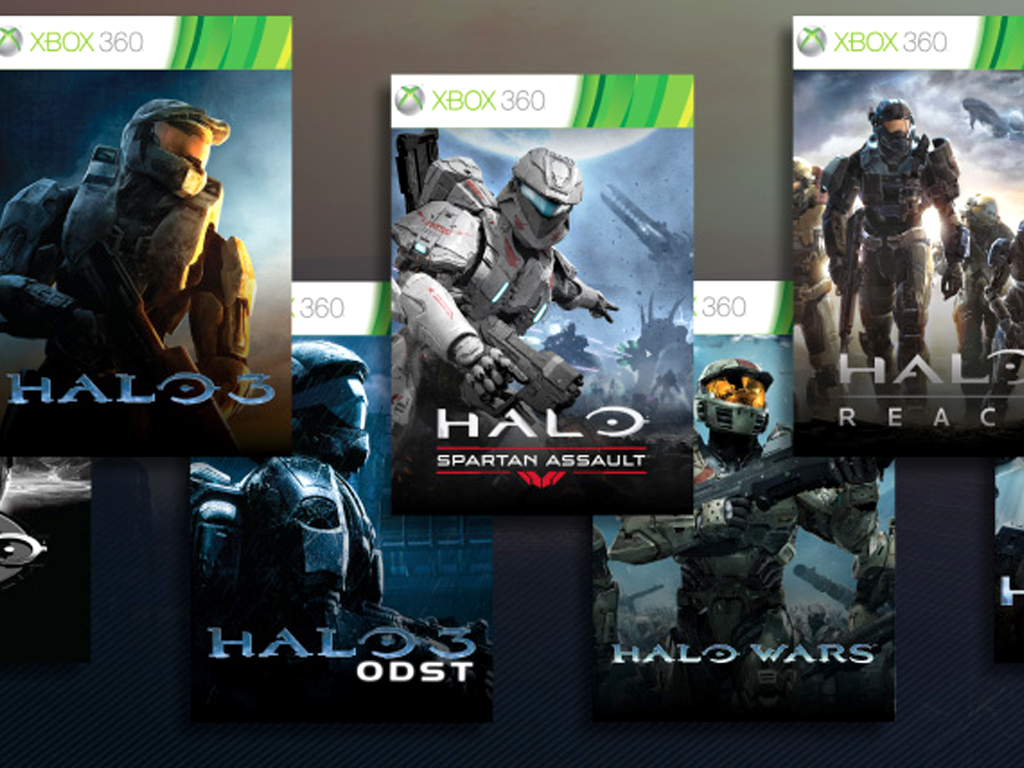 Halo Xbox 360 video games