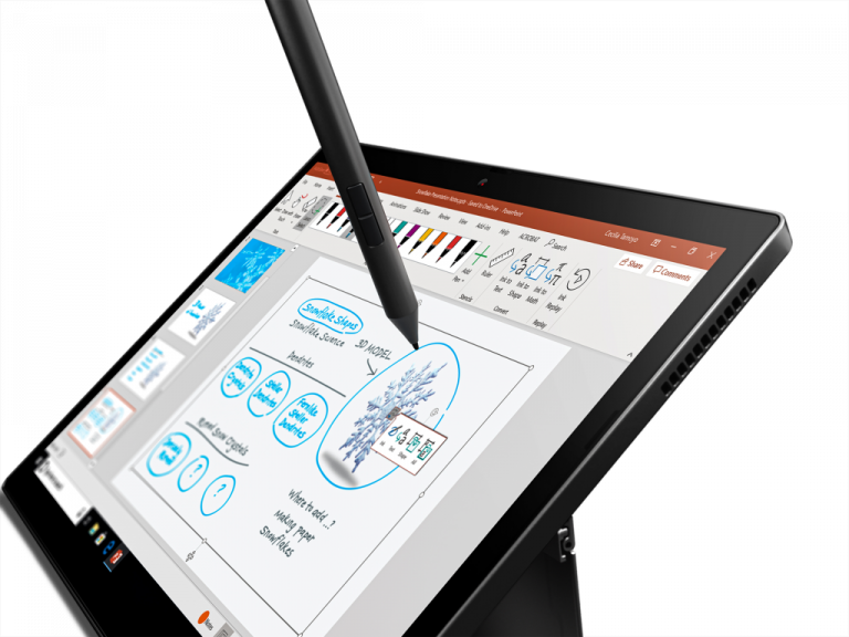 01 Thinkpad X12 Closeup Tablet Pen