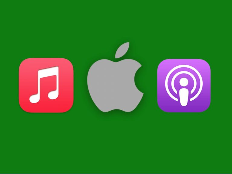Apple Music Podcasts Logo