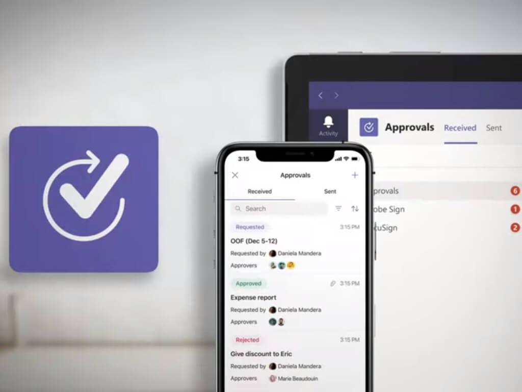 Approvals Microsoft Teams