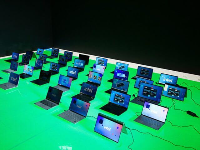Dispositivos de socios Intel Ces 2021