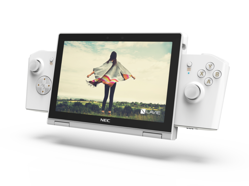 Lavie Mini Gaming Controller Crystal White Cropped