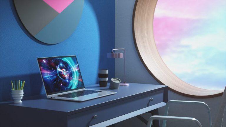 Lenovo Ideapad 5g Desk Shot (1)