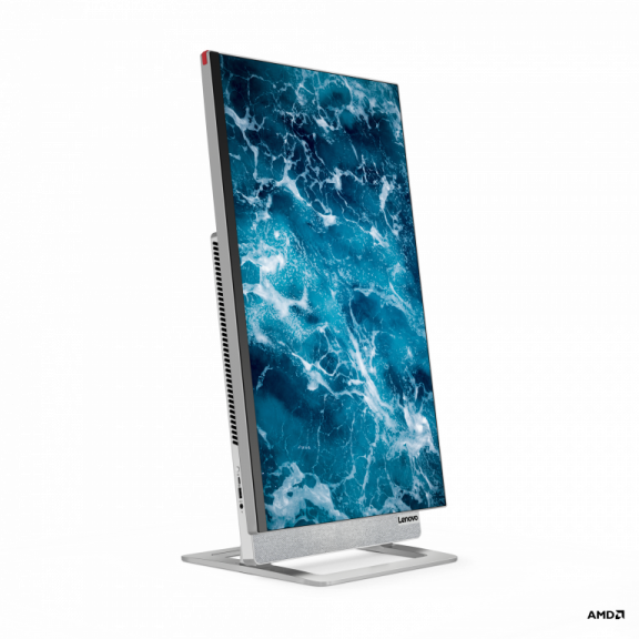 Lenovo Yoga Aio 7 Front Facing Right Vertical Ces 2021