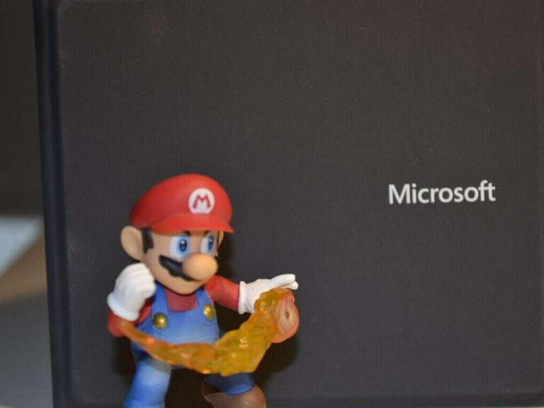 Mario microsoft logo