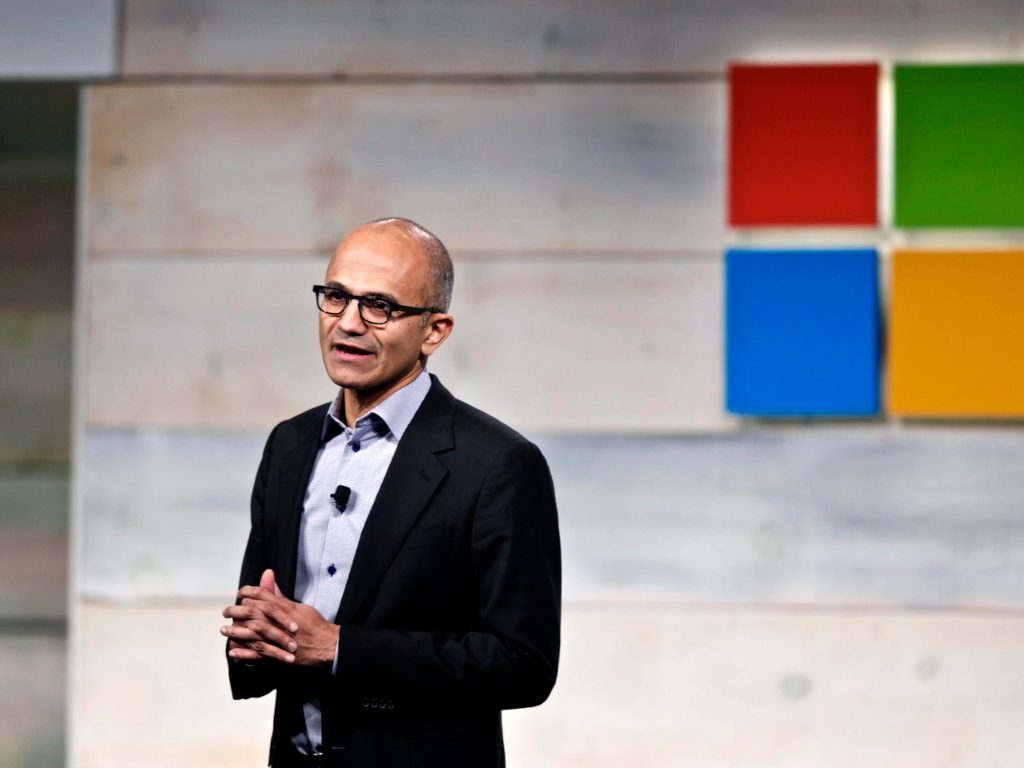 Microsoft Investors Meeting Cropped