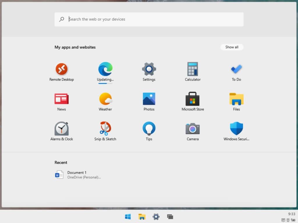 Windows 10 X Leak