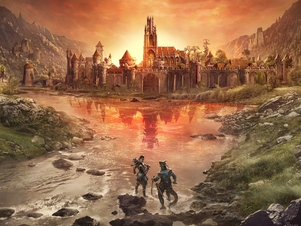 The Elder Scrolls Online: Blackwood video game on Xbox One and Xbox Series X