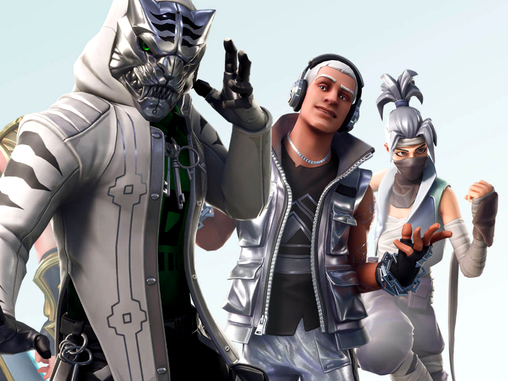 Fortnite video game skins on Xbox One and Xbox Series X