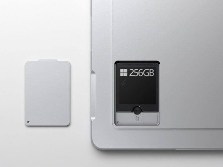 Surface pro 7plus ssd