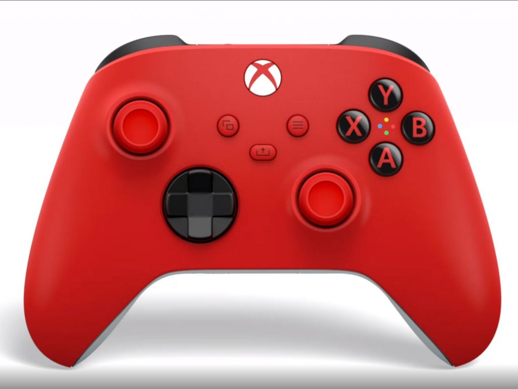 The next Xbox controller is Pulse Red and it's shipping in February