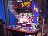 X-Men video game arcade cabinet