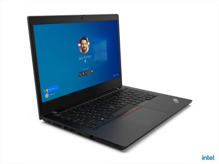 05 Thinkpad L14 Gen 2 Hero Front Facing Right Intel
