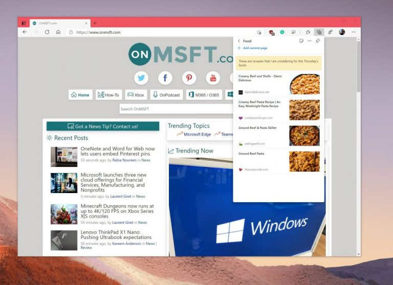 Top 10 tips and tricks to get the most out of Microsoft Edge OnMSFT.com April 5, 2021