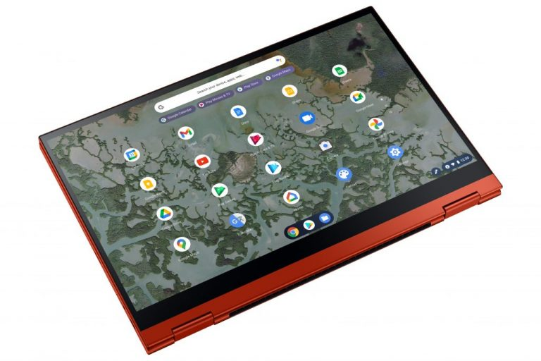 Galaxy Chromebook 2 Dynamic2 Red