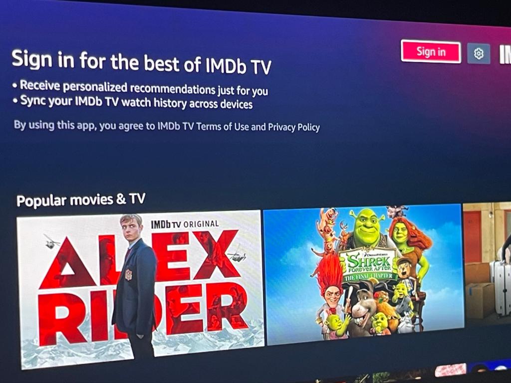 Imdb Tv Xbox One App
