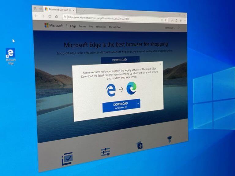 Microsoft Edge Legacy Windows 10