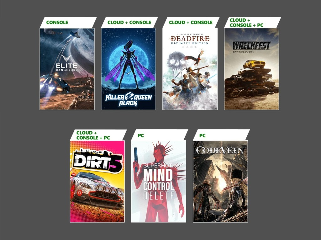 Xbox Game Pass February 2021 Update Wave 2