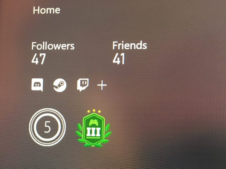 Xbox Profile Linked Account
