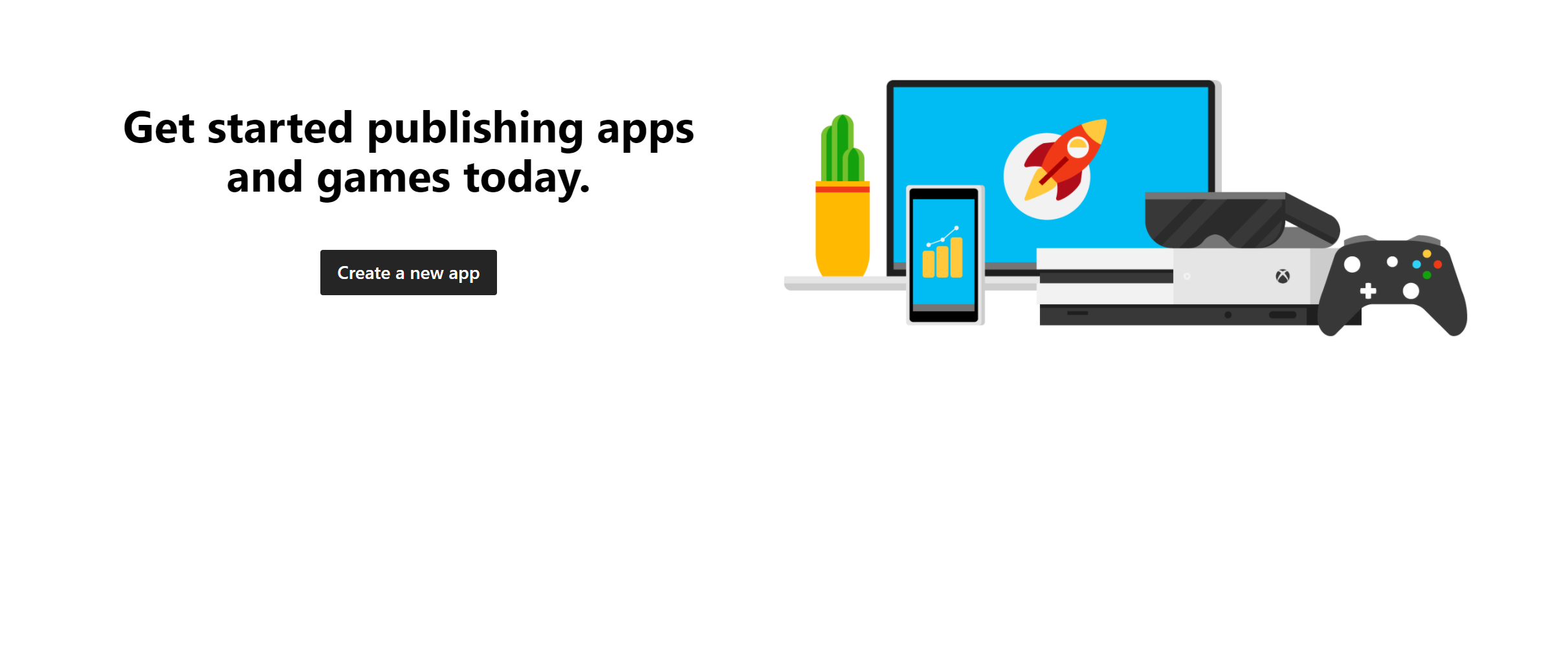 Microsoft Get Started Publishing An App