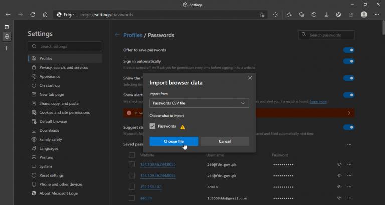 Edge import password (1)