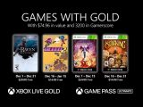 Microsoft announces Games with Gold for December OnMSFT.com November 24, 2020