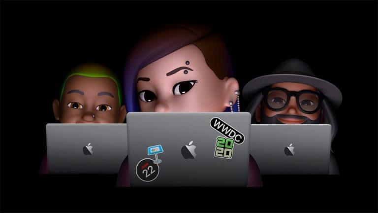 Apple's wwdc 2020 hero image