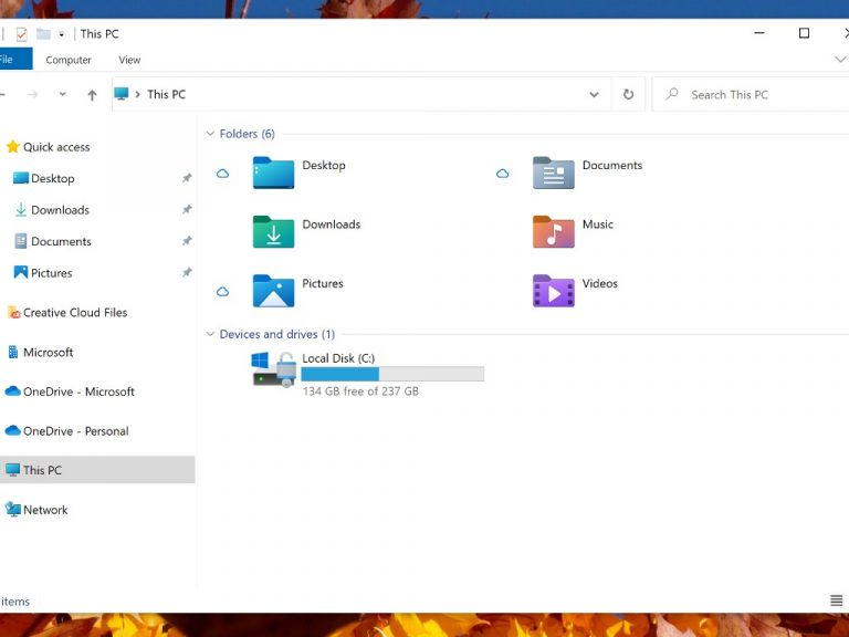 Windows 10 File Explorer New Icons-podcast