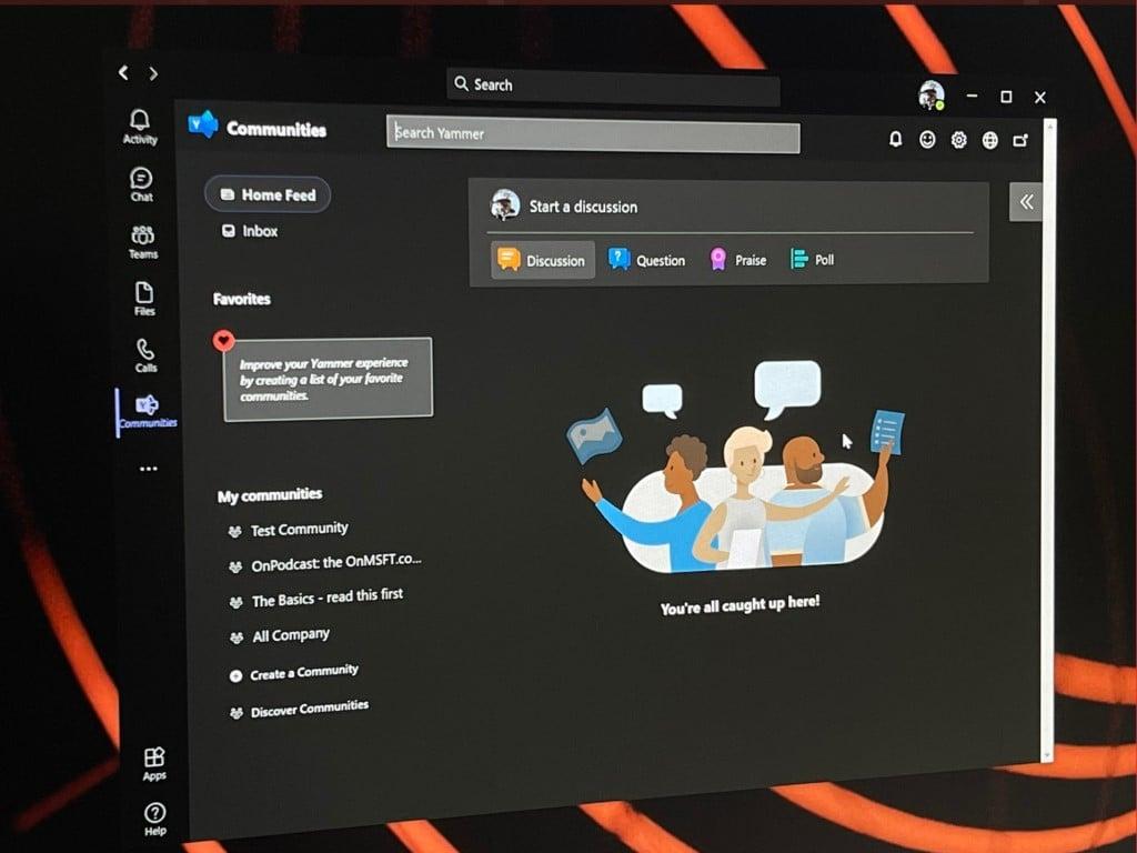 Yammer In Microsoft Teams App