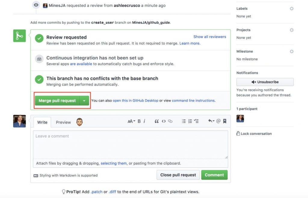 Github merge pull request