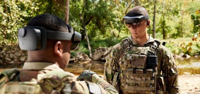 Microsoft hololens 2 army in the field