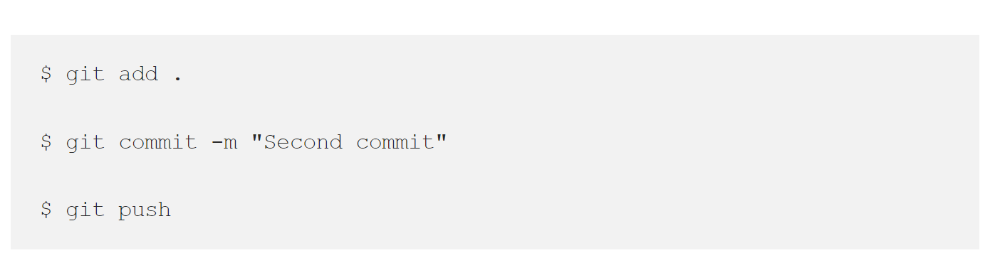 Second commit