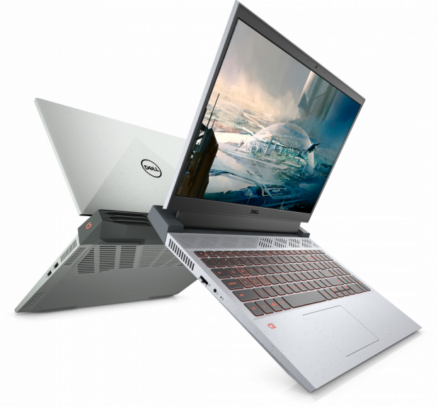 Dell g15 ryzen edition front and back