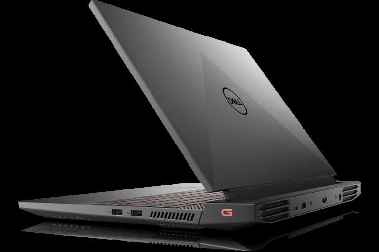 Dell g15 slight close right angled